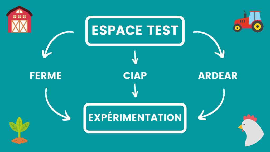schéma espace test