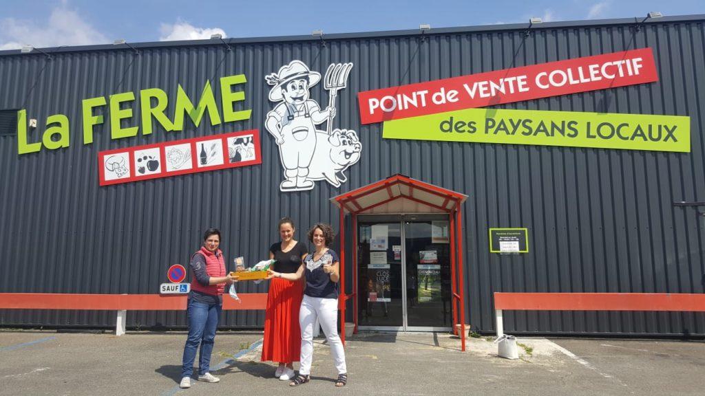 le magasin la ferme à Blois